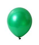 Ballon op wit met weg stock foto