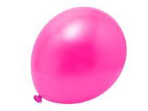 Ballon rose Photographie stock