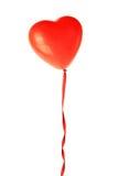 Ballon rouge Photo libre de droits