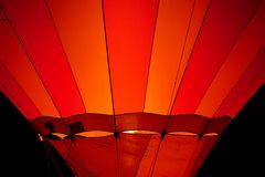 Ballon rouge Photo libre de droits