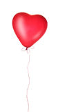 Ballon rouge de coeur Photos libres de droits