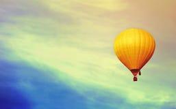 Ballon in the sky. Beautiful ballon in the sky Stock Photography