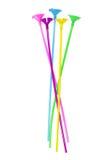 Ballon-Stöcke stockbild