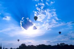 Ballon in Stockholm Lizenzfreie Stockfotos