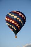 Ballon tijdens de vlucht royalty-vrije stock fotografie