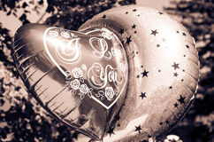 Ballon. With tittle I Love You Royalty Free Stock Photo