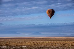Ballon trip over Atacama Chile Stock Image