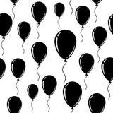 ballon Un fond sans couture de vecteur Photos libres de droits