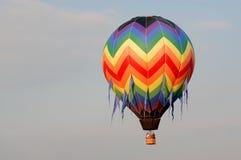 Ballon V van de hete Lucht royalty-vrije stock foto
