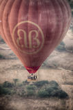 Ballon 4 van de Birmania hete lucht Royalty-vrije Stock Foto