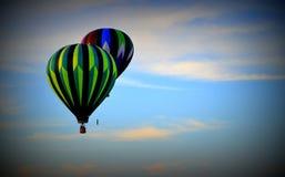 Ballon 10 van de hete Lucht Stock Afbeeldingen