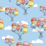 Ballon-Vektor Backgrond Lizenzfreie Stockbilder