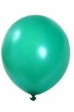 Ballon vert Images libres de droits