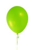Ballon vert Photo libre de droits