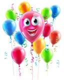 Ballon-Zeichentrickfilm-Figur Lizenzfreies Stockbild