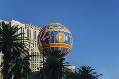 Ballon znak Paryski kasyno Zdjęcie Stock