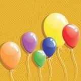 Ballonachtergrond Royalty-vrije Stock Afbeelding