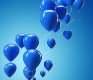 ballonblue Arkivbild