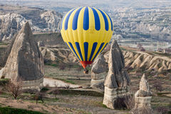 balloncappadocia Royaltyfri Bild