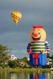 Ballone über Waikato Stockfotografie
