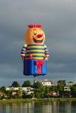 Ballone über Waikato Stockfoto