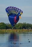 Ballone über Waikato Lizenzfreies Stockbild
