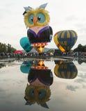Ballone am Canberra-Ballon-Festival am 13. März 2016 Stockbilder