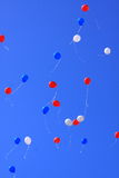 Ballone in der Luft Lizenzfreie Stockbilder