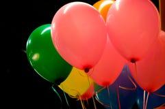 Ballone in der Luft Stockfotos