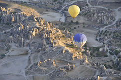 Ballone in der Türkei Lizenzfreies Stockfoto
