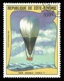 Ballone, doppeltes Eagle Stockbild