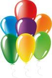 Ballone eingestellt Stockbild