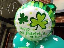 Ballone für St Patrick Tag Lizenzfreies Stockfoto
