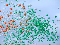 Ballone im Himmel 2 Lizenzfreie Stockfotografie