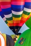 Ballone im Himmel, Ballon-Festival, internationale Ballon-Fiesta 2017 Singhapark Lizenzfreie Stockfotografie