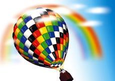 ballone powietrza Fotografia Royalty Free