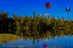 Ballonfahrt über Florida Stockbilder