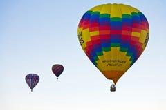 Ballonfahrten Stockfoto