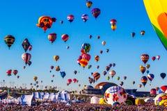 Ballonfestival Stock Foto's