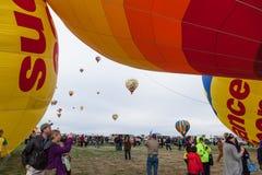 Ballonfiesta 2014 Royalty-vrije Stock Foto's