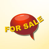 Ballong för försäljningar Fotografering för Bildbyråer