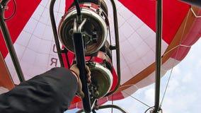 Ballong för gasgasbrännare Arkivfoto