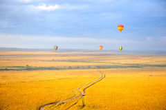 Ballong för varm luft Arkivbilder