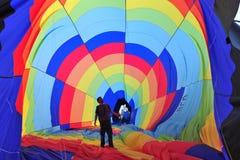 Ballong för varm luft Royaltyfria Foton