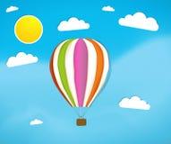 Ballong för varm luft Arkivbild