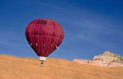 Ballong för varm luft. Royaltyfri Fotografi