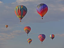 Ballong för varm luft Arkivfoton