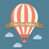 Ballong för varm luft vektor illustrationer