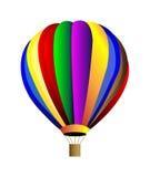 Ballong för varm luft för vektor Royaltyfri Foto
