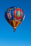 Ballong för varm luft Missouri Fotografering för Bildbyråer